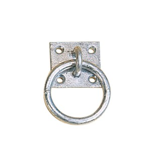 Solid feste m plate & ring