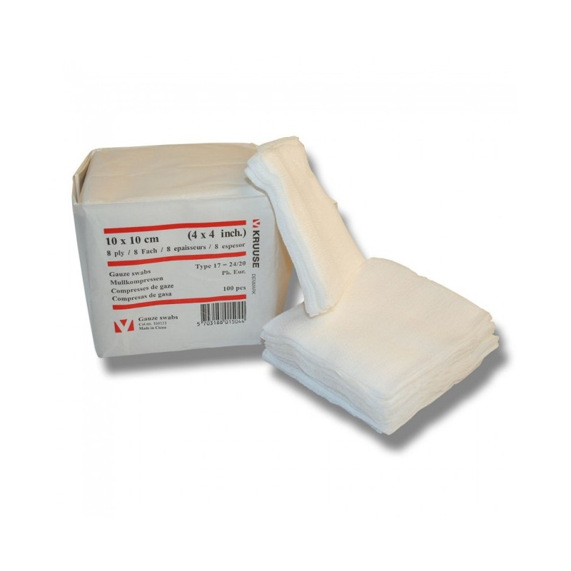 Gassbind kompresser 20x10 cm