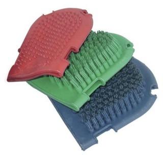 Pusse- vaskehandske i gummi