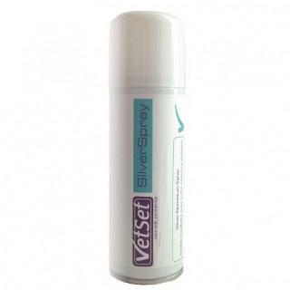 VetSet aliminium silver spray