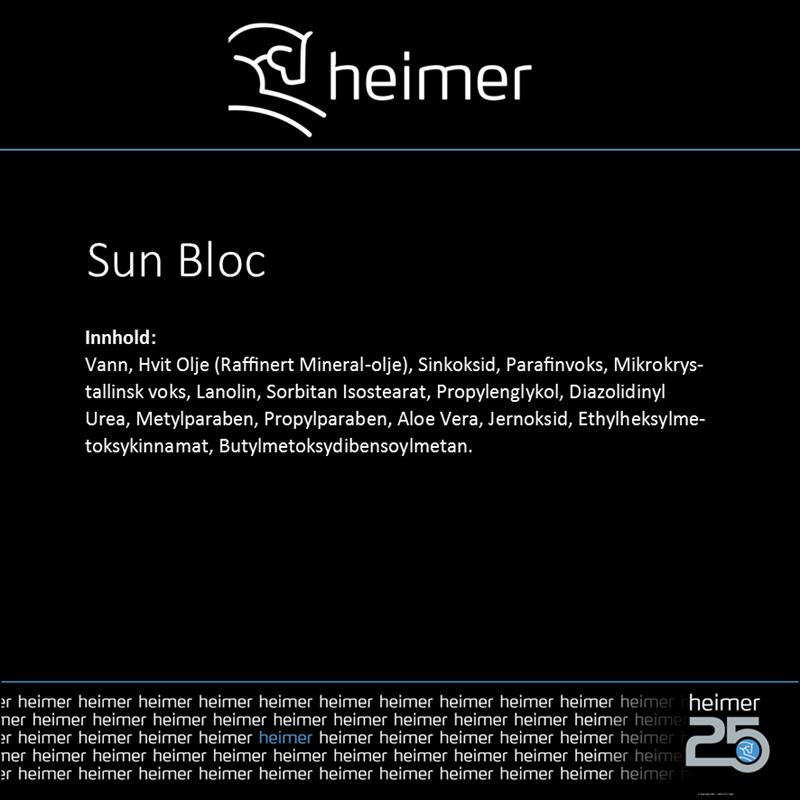 Sun Bloc Heimer solkrem