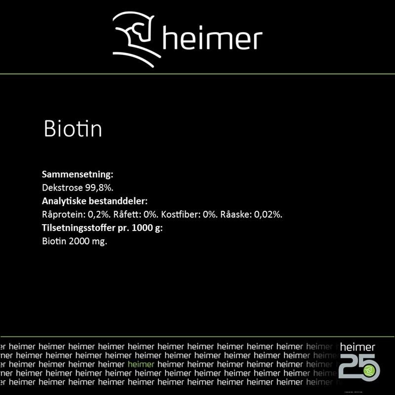 BIOTIN Heimer
