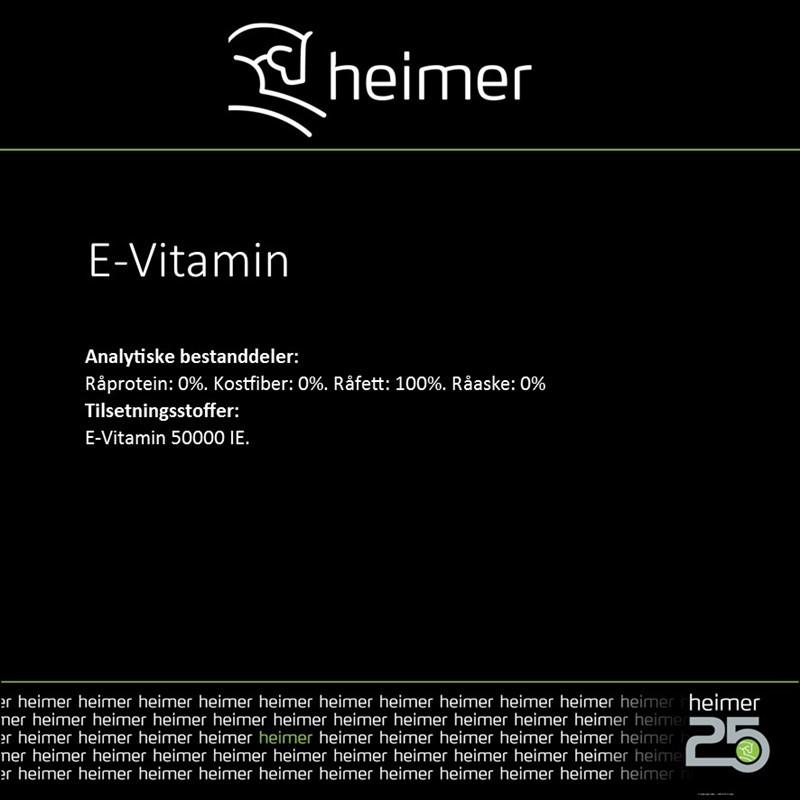 E - VITAMIN Heimer
